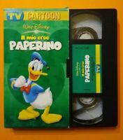 VHS Film Ita Animazione Walt Disney  IL MIO EROE PAPERINO Pomo no dvd cd (V203)