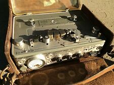Nagra 4.2 In Thick Leather Case Very Heavy Professional Tape Recorder