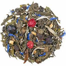 250 G.Ewiges Leben Verde Tee-Weißer Té Mix Con Erbe E Pezzi di Frutta