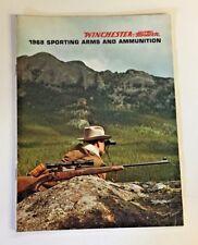 Vtg 1968 Winchester Sporting Arms Ammunition Western Center Fire Rifles Catalog