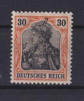 DR 89 II y 30 Pfg. Germania auf orangeweiß postfrisch geprüft (bt266)