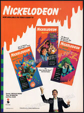 NICKELODEON__Orig. 1989 Trade AD / video promo__DOUBLE DARE_DON'T JUST SIT THERE