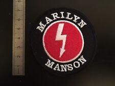 M184 // ECUSSON PATCH AUFNAHER TOPPA / NEUF / MARYLIN MANSON 7.5 CM
