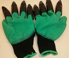 Garden Gloves With Claws For Digging Weeding Planting. New...FREE SHIPPING