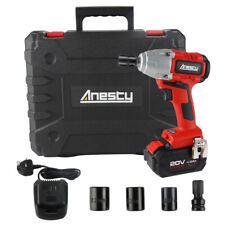 """Cordless Impact Wrench Brushless 1/2"""" Square Impact Driver 400Nm 4.0Ah Battery"""