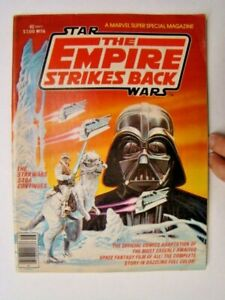 1980 Marvel Super Special #16 Star Wars Empire Strikes Back Movie Comic Book VG