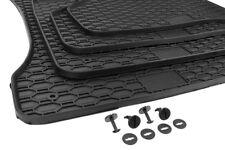 BMW 5er E60 E61 Gummimatten 4x Fußmatten Original Qualität M5 Allwetter schwarz