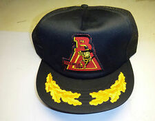 HUNTING,FISHING,OUTDOORS CAP. NEW. CLOTH/MESH, SIZE ADJUSTABLE-'TRIANGLE BEE'