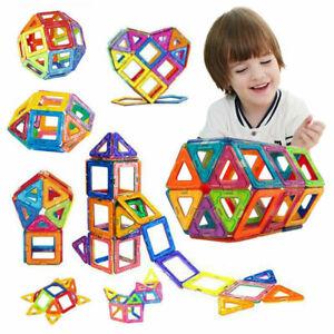 105pcs Magformers Spielzeug 3D Ziegel Magnetische Bausteine Pädagogisches Kinder