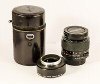 MINOLTA MD Macro 50 mm 3.5 + bague macro 1:1