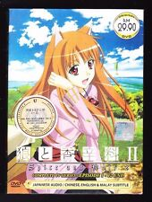 *NEW* SPICE AND WOLF SEASON 2 *12 EPISODES*ENGLISH SUBS*ANIME DVD*US SELLER*