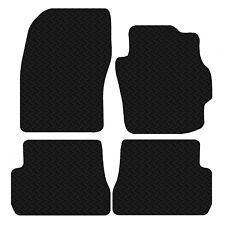 Mazda 3 2003 to 2009 Saloon Tailored Black Car Floor Mats Rubber 4 piece Set