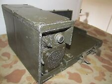AM2060 AMPLIFIER POWER SUPPLY BASE MILITARY RADIO SET PRC-25 PRC-77
