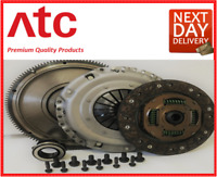 AUDI A4 CLUTCH KIT & FLYWHEEL SOLID MASS MK 2 8E2 B6 1.9 TDI 00 to 04 AVF