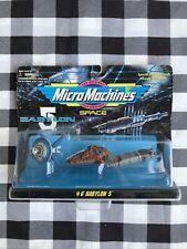 Micro Machines Space Babylon 5 Set #6 Galoob Vintage 1995 Nos!