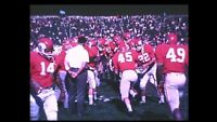 16mm A Look At Ohio State University 1965 Football Student Life Stock Footage
