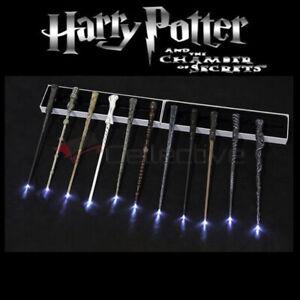 """Harry Potter Magic Wand w/ LED Illuminating Wand 14.5"""" Costume Props Toys Gift"""