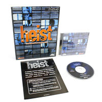 Heist for PC CD-ROM by Virgin in Big Box, 2001, VGC, CIB, Action, Strategy