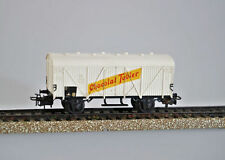 Carri merci bianchi per modellismo ferroviario scala H0