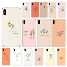 Great Aesthetic Flower art Soft Case For Iphone 6 7 8 X XR XS 11 11Pro MAX