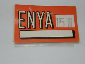 GASKET FOR ENYA ENGINE CARBURETOR .15-III (Part # 15323) NIB