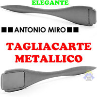 TAGLIACARTE in METALLO da UFFICIO per LAVORO Metallico FOGLIO Carta BUSTE Lusso