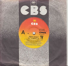 EDDIE MONEY Get A Move On / Don't You Ever Say No 45