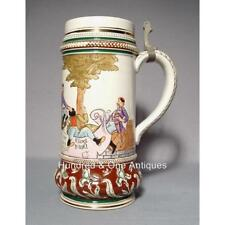 Antique Beer Stein Matthias Girmscheid 19th century