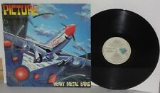 PICTURE Heavy Metal Ears LP Vinyl Viper VPR100 Canada The Hangmen PLAYS WELL