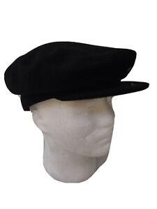 Black Beret Stlye Wool Hat