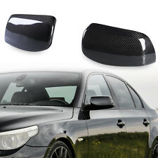 # Real Carbon Fiber Rear View Door Mirror Cover For BMW 5 Series E60