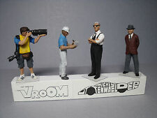4  FIGURINES  1/43  SET  260  IL  COMMENDATORE  VROOM  A  PEINDRE  UNPAINTED