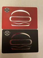 Steak n Shake Gift Card (2 x $25) $50 Value