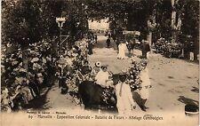 CPA MARSEILLE Exposition Coloniale-Bataille de Fleurs (339613)