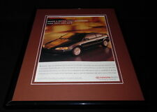 1997 Toyota Paseo Framed 11x14 ORIGINAL Vintage Advertisement