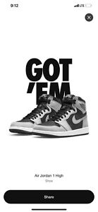 Nike Air Jordan 1 Retro High OG Shadow 2.0 555088-035 Size 11 CONFIRMED ORDER.