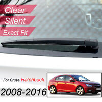 Rear Wiper Arm Blade Kit For Chevrolet Cruze 2008 2009 2010 2011 2012 2013 2014