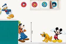 Kinder Wandtattoo Disney Mickey Mouse und seine Freunde Kinderzimmer Aufkleber