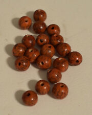 Beads Orange Betel Nut Philippine 10mm Beads