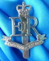 Staybrite Military Provost Staff Corps Cap Badge QC Anodised maker FIRMIN