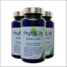PERFECT HAIR PLUS 3 PACK Phyto Life Dense Shiny Hair Growth Replace Phytophanere