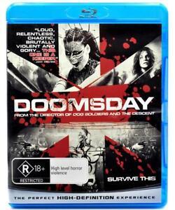 Doomsday (Blu-ray, 2008) Region B