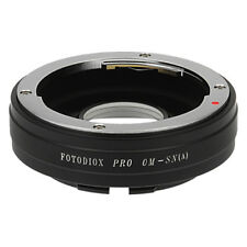 Fotodiox Pro Lens Adapter Olympus OM Lens to Sony Alpha A-Mount (MAF) Camera