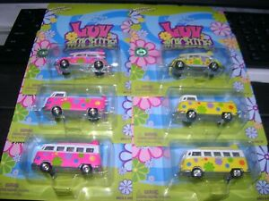 6 Johnny Lightning Luv Truck, Luv Bus, Luv Machine, Volkswagens All #86 of 1000