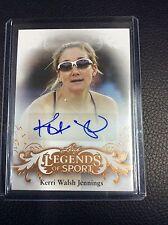 2015 Leaf Legends of Sport Kerri Walsh Jennings Base auto Autograph