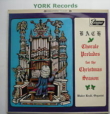 TV 34084S - BACH - Chorale Preludes For The Christmas Season - Ex Con LP Record