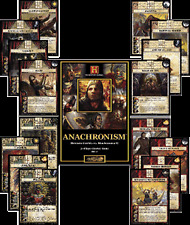 History - Anachronism Game 5 16 cards sets in Spanish