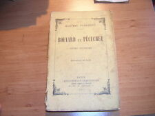 1907.Bouvard & pécuchet / Flaubert