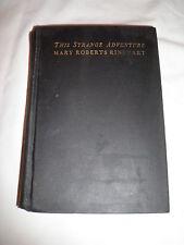Wonderful 1929 1st Edition Antique book This Strange Adventure by M.R. Rinehart
