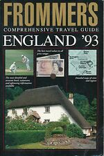Frommer's England '93 by Comprehensive (1992, Paperback)